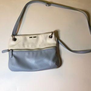 Blue&white crossbody bag